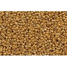 Бисер круглый Miyuki Gold Plated 24 KT (№191)