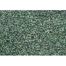 Бисер круглый Miyuki Forest Green Lined Crystal (№217)