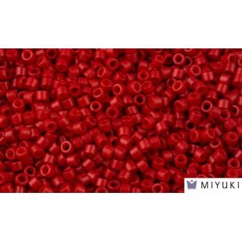 Бисер цилиндрический Miyuki Delica DB791 Dyed Opaque Red