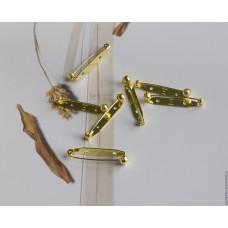 Основа для броши с защитным механизмом (золото)