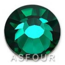 Стразы Asfour холодной фиксации Emerald