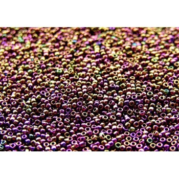 Бисер круглый Toho Metallic Iris (№85)