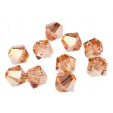 Биконусы XILION Swarovski Crystal Metallic Sunshine