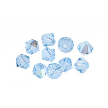 Биконусы XILION Swarovski Aquamarine Shimmer