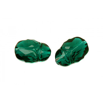 Бусина Scarab Bead 12mm - Emerald