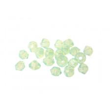 Биконусы XILION Swarovski Chrysolite Opal