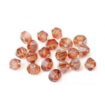 Биконусы XILION Swarovski Crystal Copper