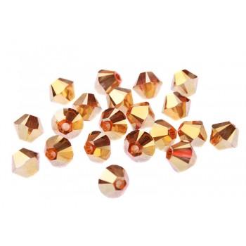 Биконусы XILION Swarovski Crystal Metallic Sunshine 2X