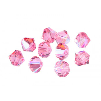 Биконусы XILION Swarovski Rose Shimmer 2X