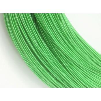 Жесткая канитель 1 мм. Светло-зеленая