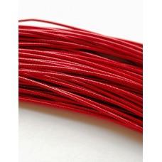 Жесткая канитель 1 мм. Красная