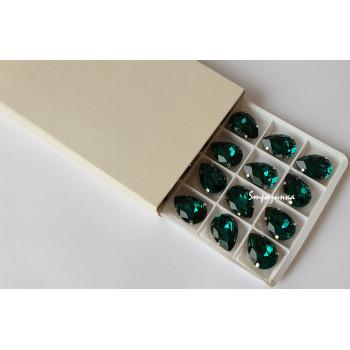 Капля Emerald в оправе (хрусталь)