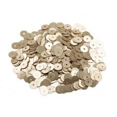 Пайетки плоские 2 мм. Oro Metal