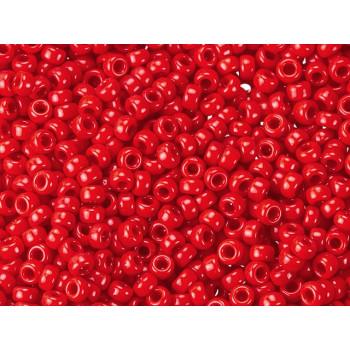 Бисер круглый Miyuki Opaque Red (№1684)