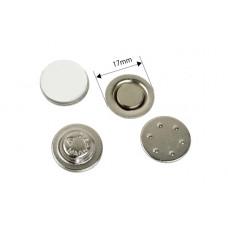 Магнитная основа для броши (круглая) 17 мм.