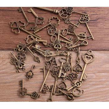 Ключ-подвеска (медь) 2 см