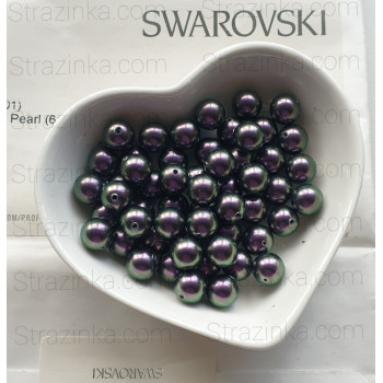 Кристальный жемчуг Swarovski Iridescent Purple