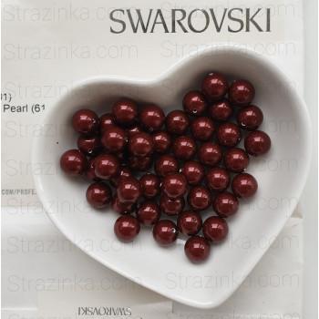 Кристальный жемчуг Swarovski Bordeaux