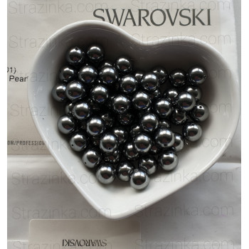 Кристальный жемчуг Swarovski Dark Grey