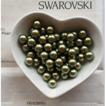 Кристальный жемчуг Swarovski Iridescent Green