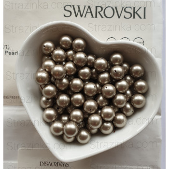 Кристальный жемчуг Swarovski Platinum