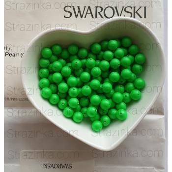 Кристальный жемчуг Swarovski Neon Green