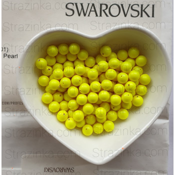 Кристальный жемчуг Swarovski Neon Yellow