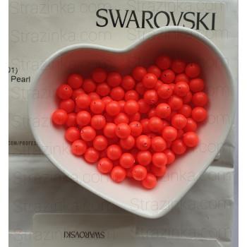 Кристальный жемчуг Swarovski Neon Red