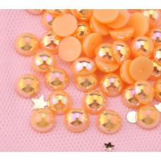 Акриловый полужемчуг Orange