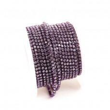 Стразовая лента Purple Velvet (база Purple)