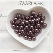 Кристальный жемчуг Swarovski Burgundy