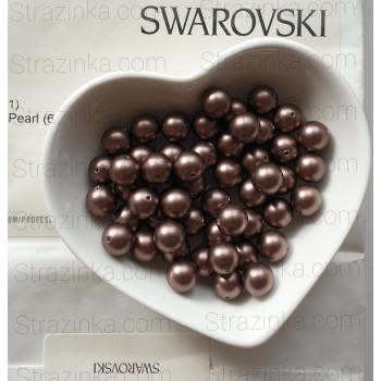 Кристальный жемчуг Swarovski Velvet Brown