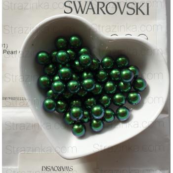 Кристальный жемчуг Swarovski Scarabaeus Green