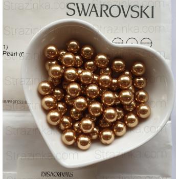 Кристальный жемчуг Swarovski Bright Gold