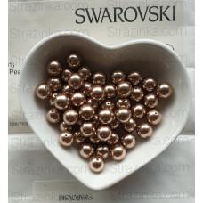 Кристальный жемчуг Swarovski Bronze