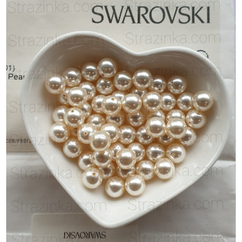 Кристальный жемчуг Swarovski Creamrose Light
