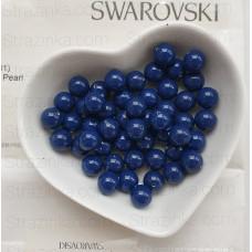 Кристальный жемчуг Swarovski Dark Lapis