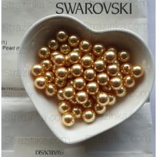 Кристальный жемчуг Swarovski Gold