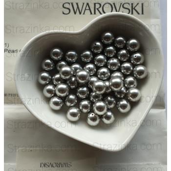 Кристальный жемчуг Swarovski Light Grey