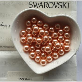 Кристальный жемчуг Swarovski Rose Peach