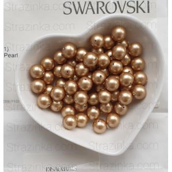 Кристальный жемчуг Swarovski Vintage Gold