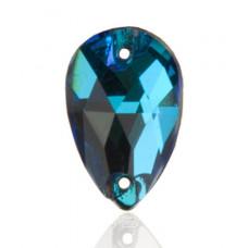 Капля Swarovski Crystal Bermuda Blue
