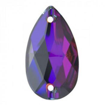 Капля Swarovski Crystal Heliotrope