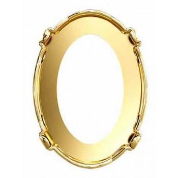 Оправа для овала Сваровски Gold Plating