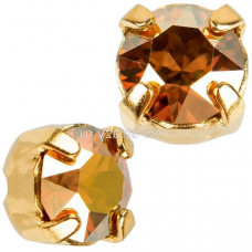 Шатон с кристаллом Swarovski Gold Crystal Metallic Sunshine