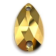 Капля Swarovski Crystal Aurum