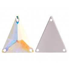 Swarovski Slim Triangle Crystal AB