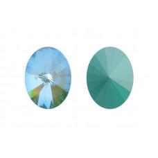 4122 14x10,5 mm Crystal Silky Sage Delite