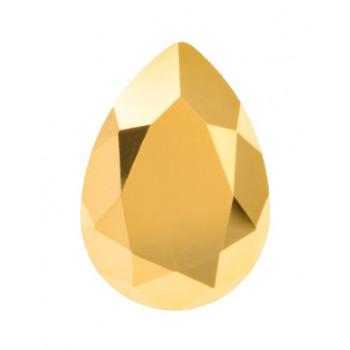 4320 14x10 mm Crystal Aurum