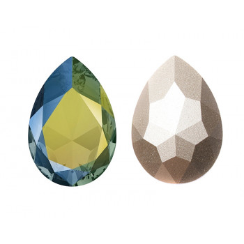 4320 18x13 mm Crystal Iridescent Green